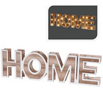 Home & Styling HOME - houten letters - 38cm - 28 LED