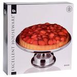 Excellent Houseware Taartplateau RVS - 33cm