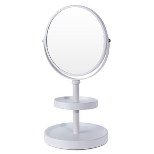 Ceruzo Make-up spiegel - dubbelzijdig - vergrotend - wit