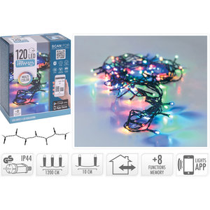 DecorativeLighting LED-verlichting met App bediening - 120 LED's - 12 meter - multicolor