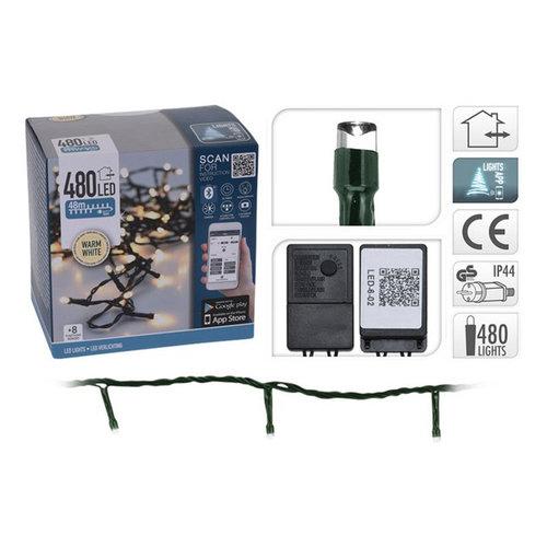 DecorativeLighting LED-verlichting met App bediening - 480 LED's - 48 meter - warm wit