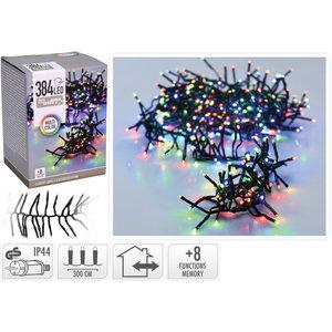 DecorativeLighting Clusterverlichting - 384 LED - 2.8m - multicolor