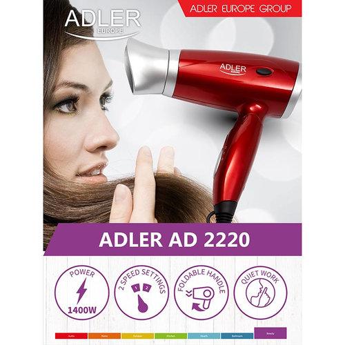 Adler AD2220 - Föhn 1400W