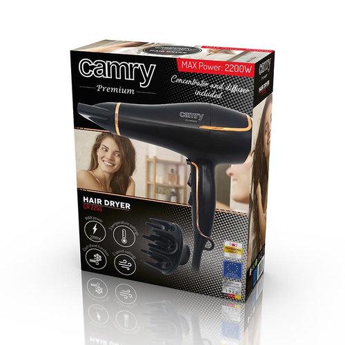 Camry CR2255 - Föhn 2200W - met diffuser