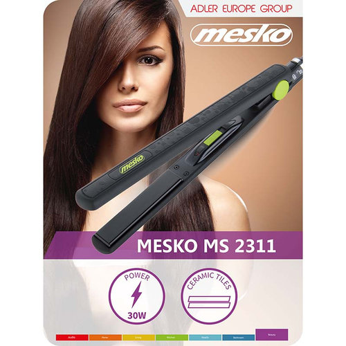 Mesko MS2311 - Stijltang 32W - keramisch