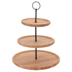 Excellent Houseware Etagere bamboe - 3 laags