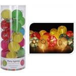 Party Lighting Feestverlichting - 20 lampen - gekleurd