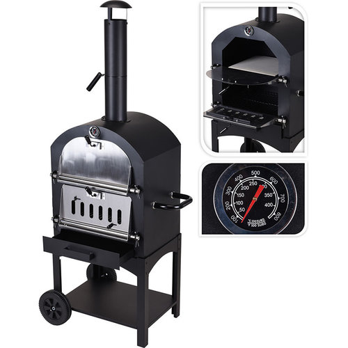 Vaggan Pizza oven - Barbecue - 48x68x156cm