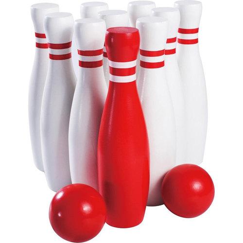 Outdoor Games Bowlingspel XL - 23cm - hout