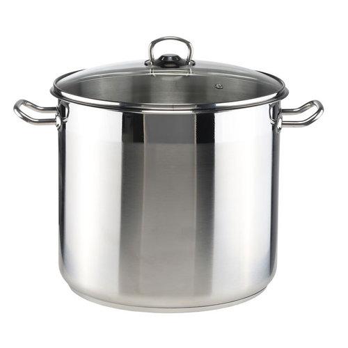 Haushalt International Kookpan met glazen deksel - 15 liter