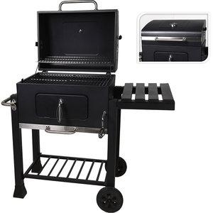Vaggan Houtskool BBQ - mat zwart