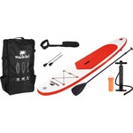 Waikiki SUP Board Red   - 305 cm - complete set