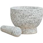 Haushalt International Vijzel met stamper - graniet