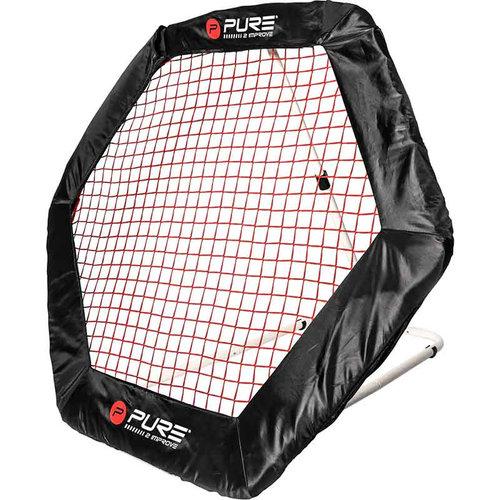 Pure2Improve Soccer Rebounder Hexagon - voetbal