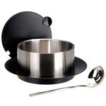Excellent Houseware Roestvrijstalen serveerpan met sauslepel - 2.4 liter