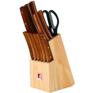 Bergner Messenblok - 11 Messen + 1 Schaar