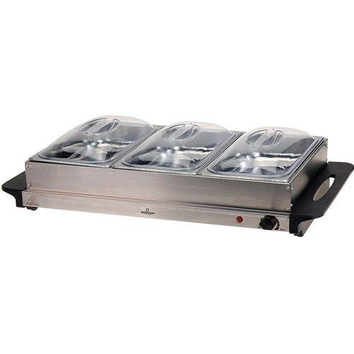Excellent Electrics Buffetwarmer met warmhoudplaat 300W
