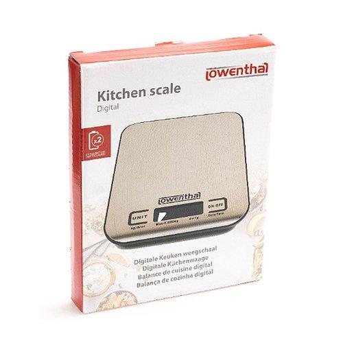 Lowenthal Digitale Keukenweegschaal