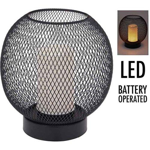 Home&Styling Tafellamp - draad -  19cm - luxe uitvoering