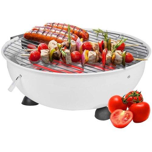 Cuisinier Deluxe Elektrische tafel barbecue zwart