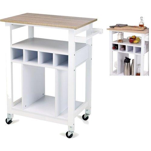 Excellent Houseware Stijlvolle keukentrolley