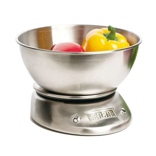 Bergner Masterpro Elektronische Keukenweegschaal RVS - 5kg