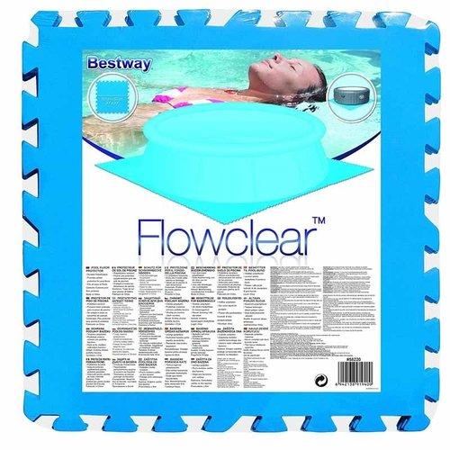 Bestway Flowclear - set van 9 vloertegels