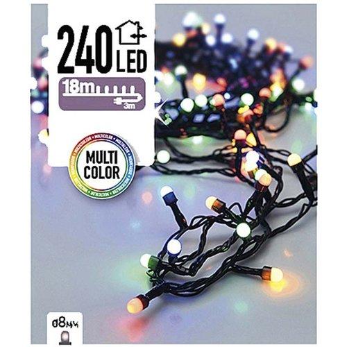 DecorativeLighting LED-verlichting bolletjes 240 LED's 18 meter multicolor
