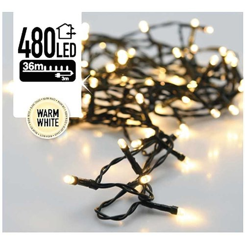 DecorativeLighting LED-verlichting 480 LED's 36 meter warm wit