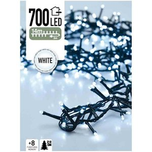 DecorativeLighting Micro Cluster 700 LED's 14 meter wit