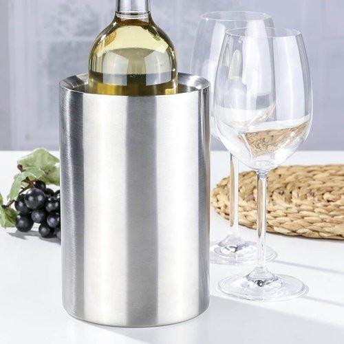 Haushalt International Wijnkoeler RVS - dubbelwandig