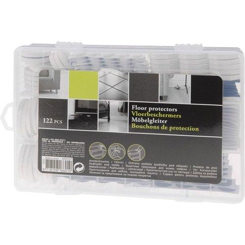 Vloerbeschermers - 122 stuks in box