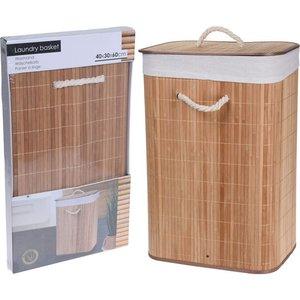 Wasmand opvouwbaar - bamboe