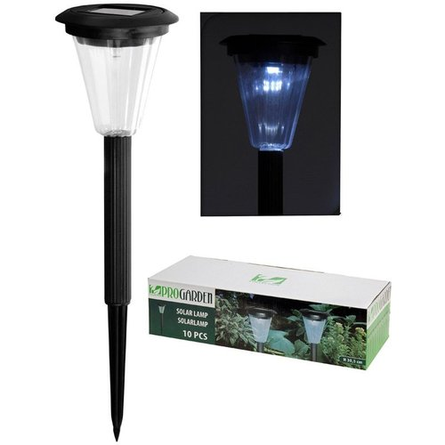 ProGarden Set van 10 Solar LED-lampen