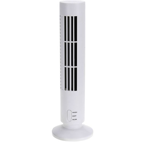 USB Toren ventilator 33 cm wit