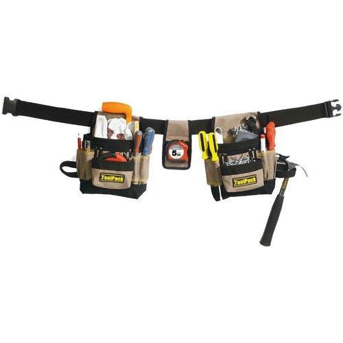 Toolpack ToolPack   Gereedschapgordel met 2 tassen