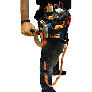 Toolpack ToolPack Gereedschapsgordel met elastische veiligheidslijn