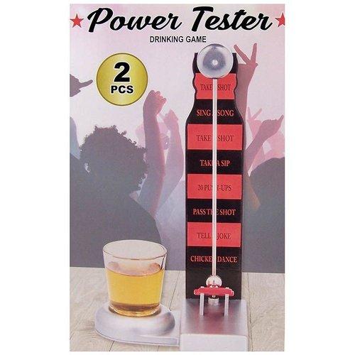 Power tester drinkspel