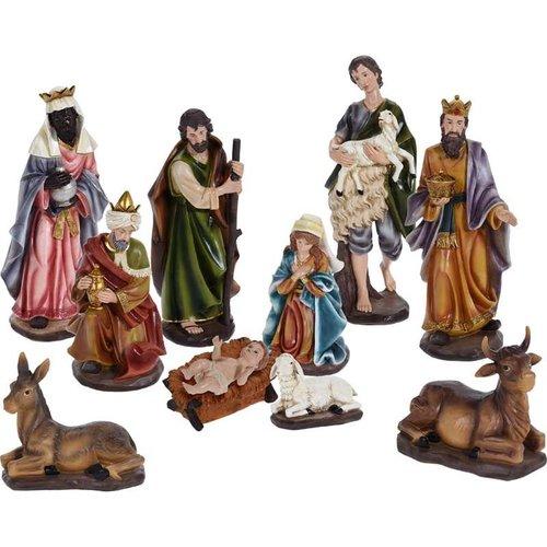 Kerstgroep 10-delig - XL