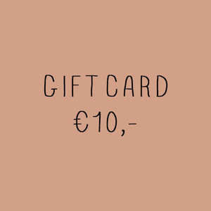 No Labels Kidswear Giftcard €10,-