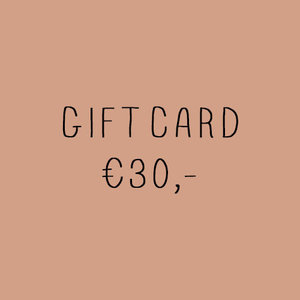 No Labels Kidswear Giftcard €30,-