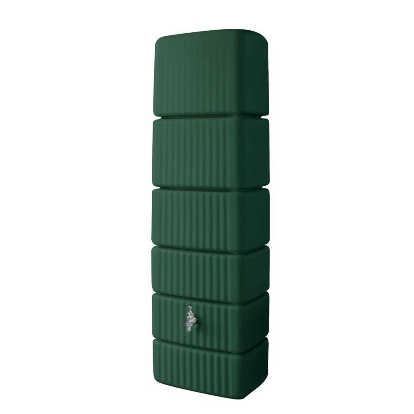 Garantia SLIM wandtank 300 liter groen l.58 x b.37 x h.182 cm