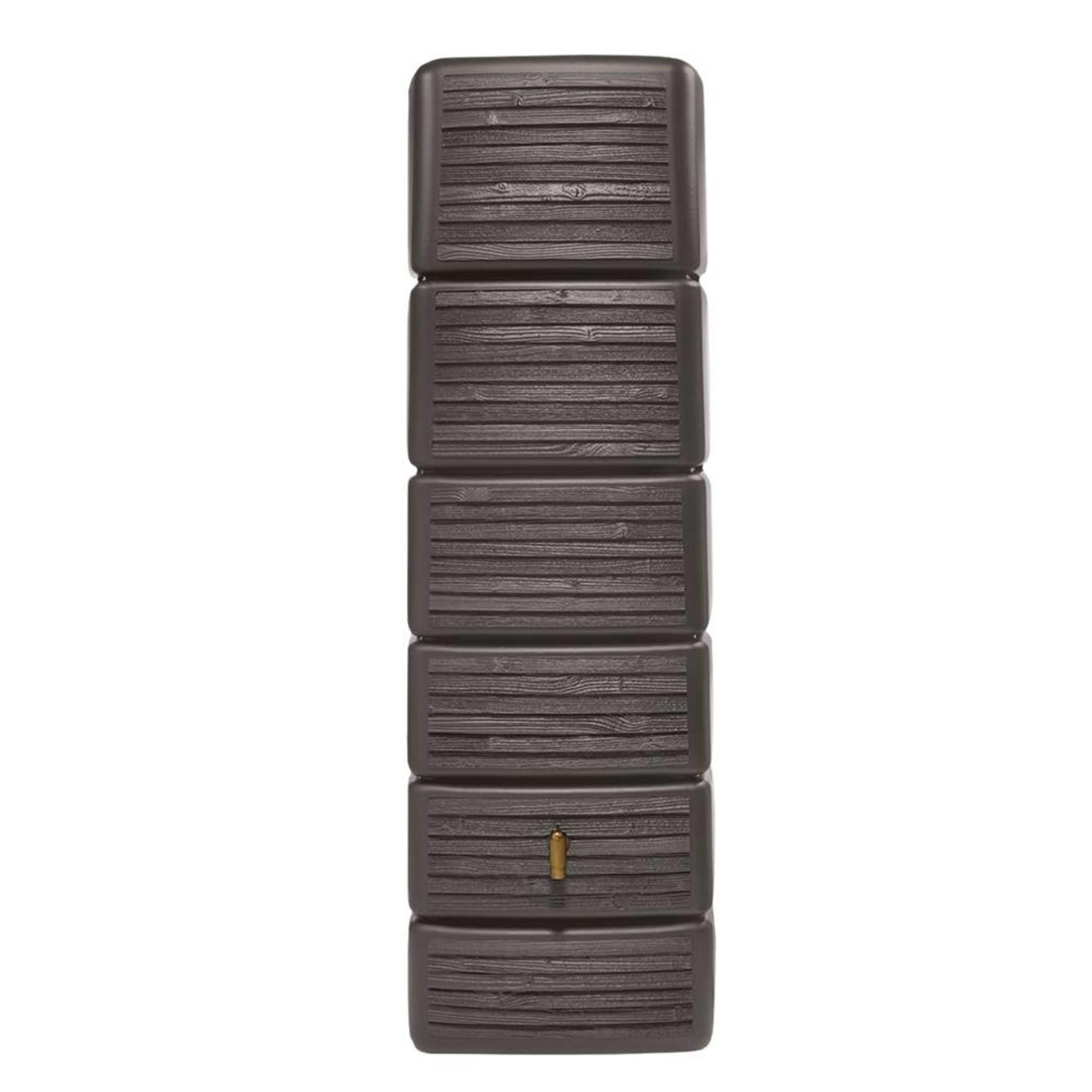 Garantia SLIM wandtank 300 l. wood decor dark l.58xb.37xh.182