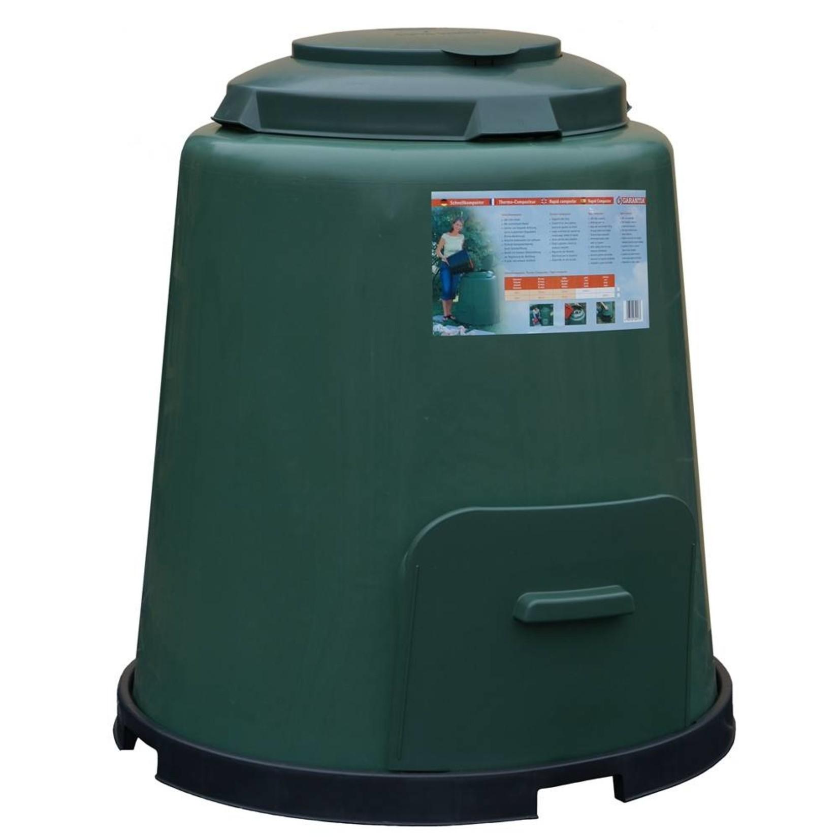 Meuwissen Agro Compostvat 280 liter groen/beluchting ø 80 x h.87 cm