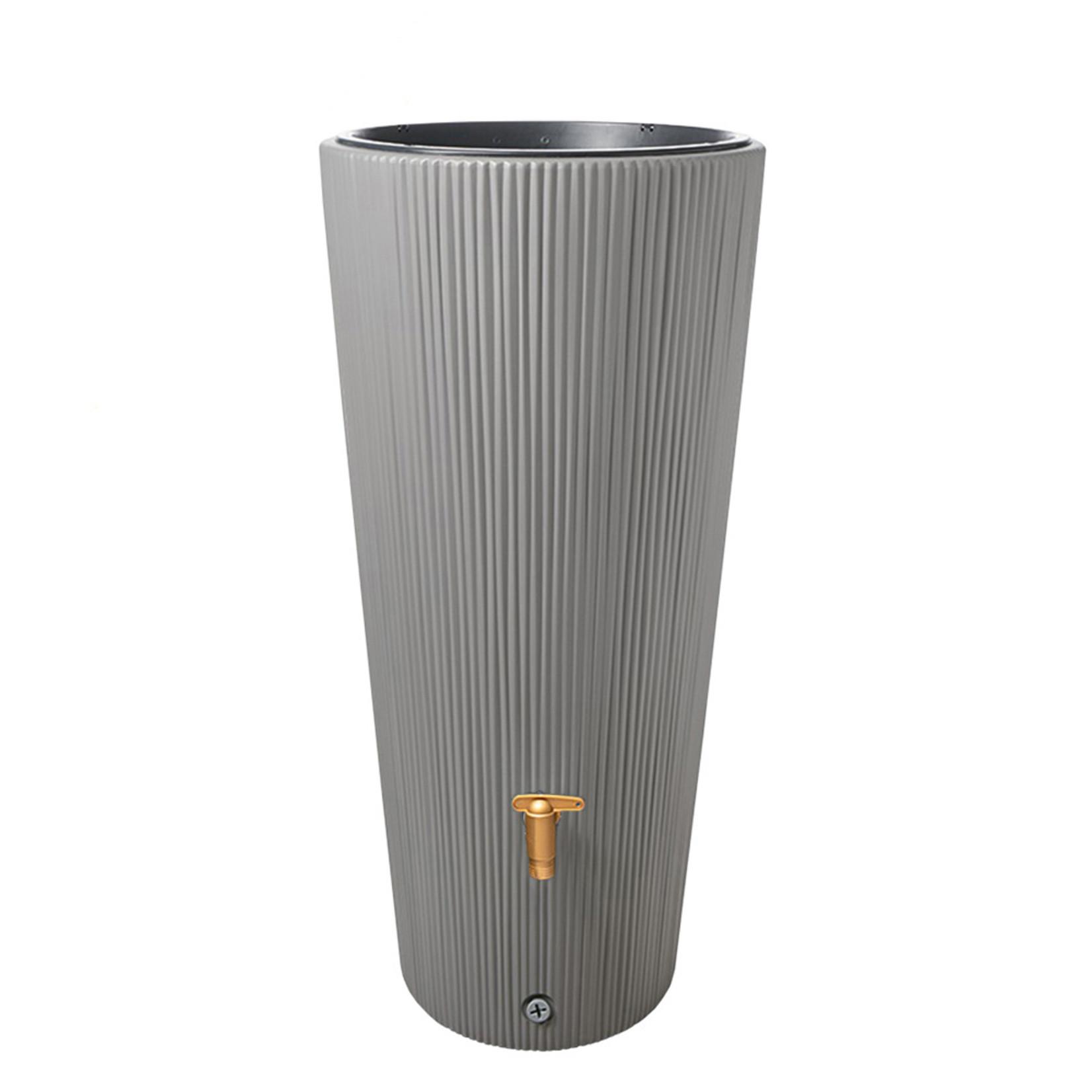 Garantia 2in1 ton VASO DECOR 220 liter grijs ø 58(max) x h.120 cm