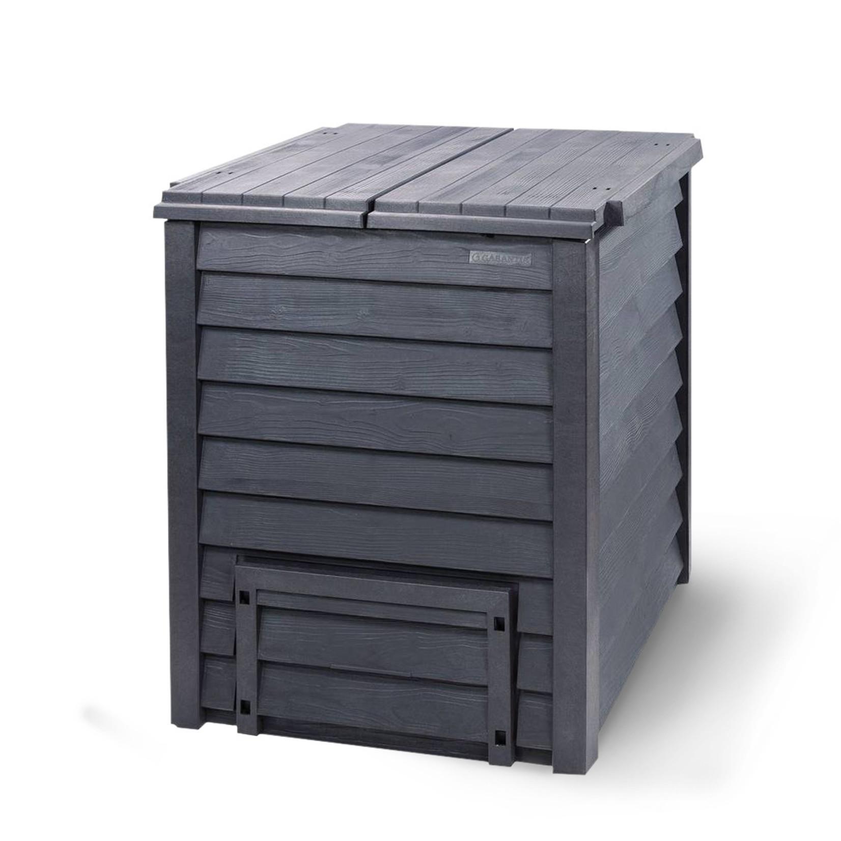 Meuwissen Agro Compostvat Thermo-Wood 600 bruin-zwart 80 x 80 x 95 cm