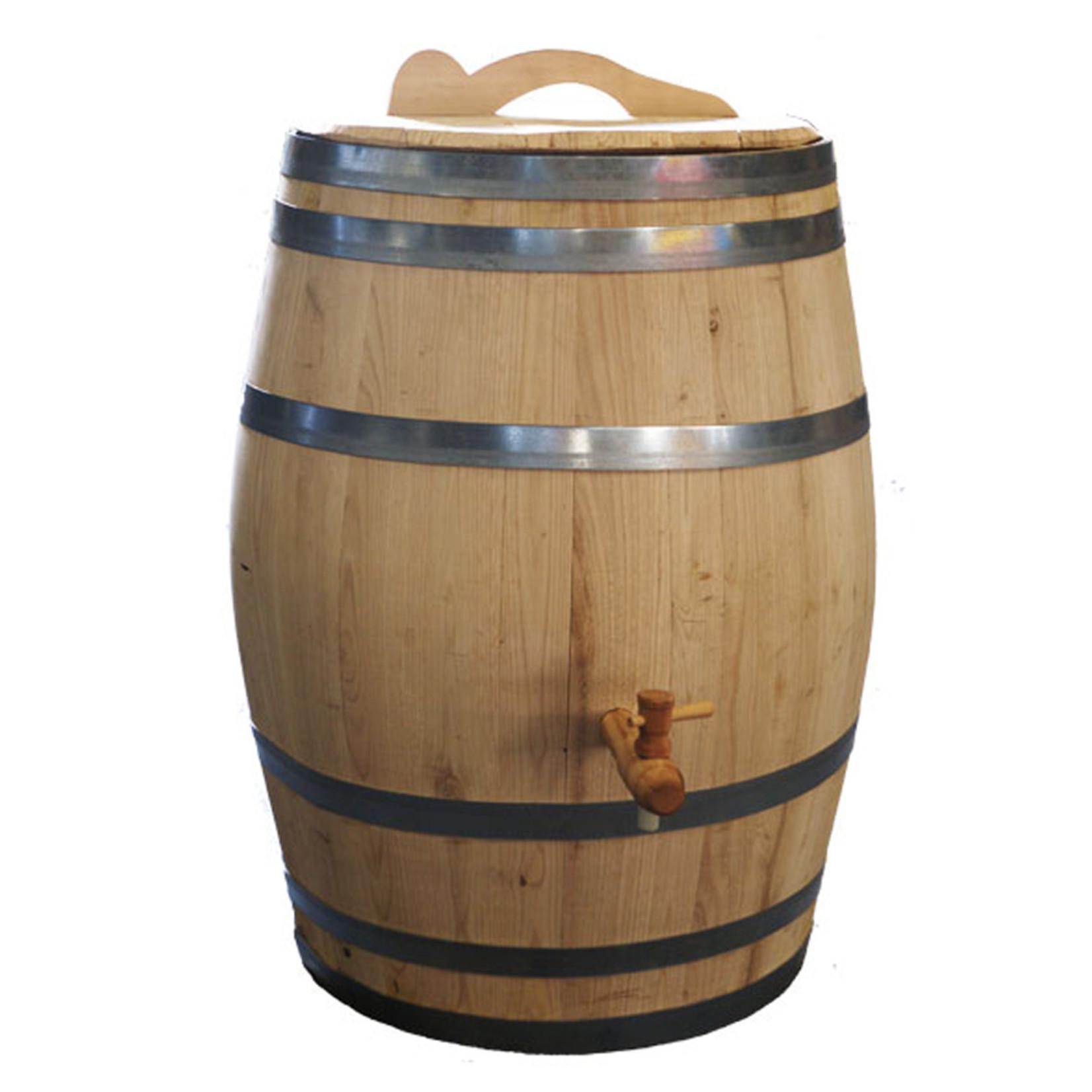 Meuwissen Agro Ton 150 liter kastanje kraan/handvat ø 56 x h.80 cm