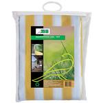 Meuwissen Agro Balkondoek 0,9 x 5 mtr geel/wit