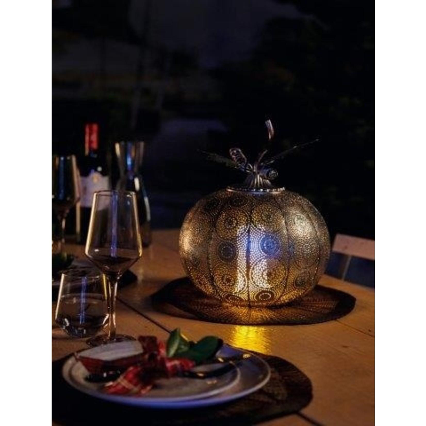 Luxform Luxform Pompoen lamp Antique Silver