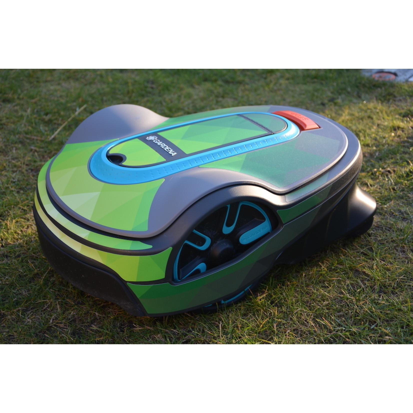 Twinckels Twinckels robotmaaier stickerset (Gardena Sileno) - Geo Groen
